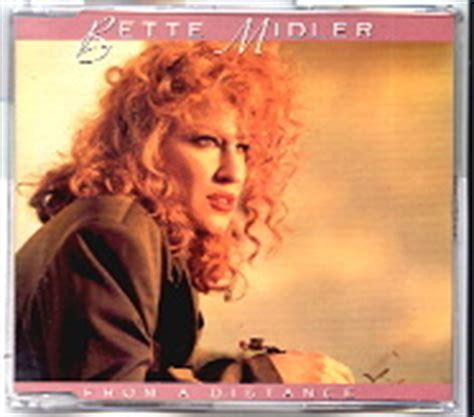 bette midler from a distance album bette midler cd single at matt s cd singles
