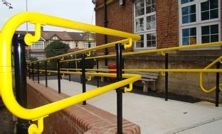 Dda Compliant Handrails are fittings better than fabrication for safety barrier construction roof edge fabrications