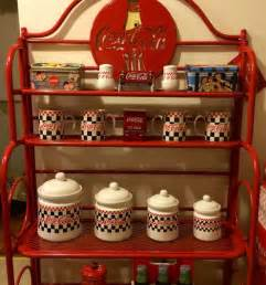 Coca Cola Bakers Rack Coca Cola Metal Baker S Rack I Owed All The Stuff
