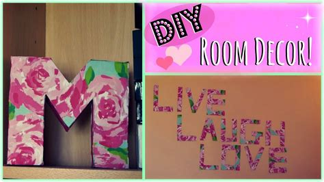Cheap Home Decors by Diy 2 Easy Room Decor Ideas Youtube
