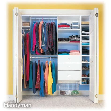 Easy To Install Closet Organizers Closet Organizers Storage The Family Handyman