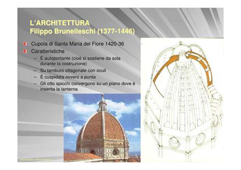 filippo brunelleschi cupola di santa fiore umanesimo e rinascimento