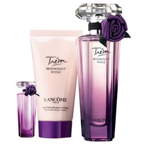 Midnight Perfume Set tresor midnight by lancome gift set at haulitgirl