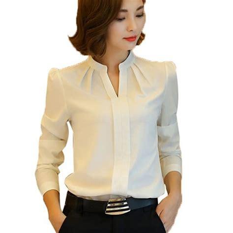 New Blouse 1 blouses new arrival fashion autumn korean style sleeve chiffon blouse