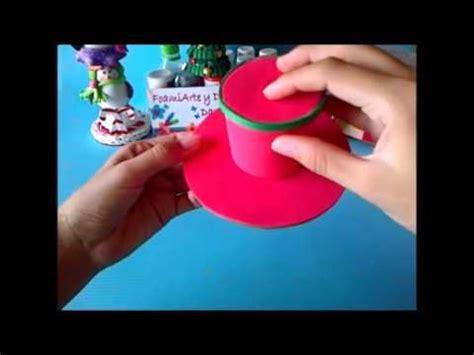 sombrero de frutas de foamy diadema sombrero de navidad en foami o goma eva youtube