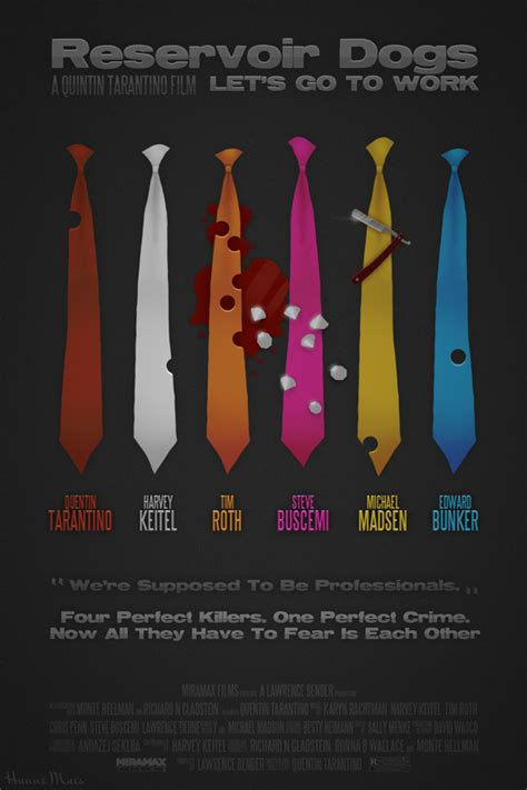 reservoir dogs poster reservoir dogs alternate poster by maeshanne on deviantart