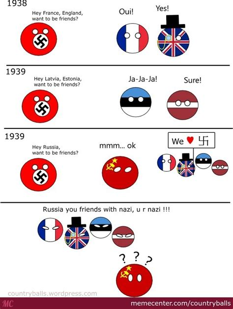 Countryball Meme - ww2 by countryballs meme center