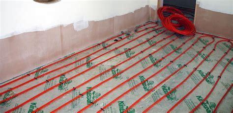 Underfloor Plumbing by Underfloor Heating