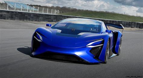 mitsubishi supercar concept 2016 techrules at96 trev supercar concept 187 car revs daily com