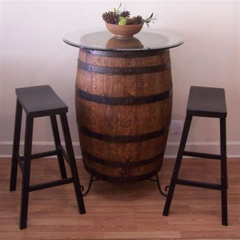 how to a whiskey barrel table best 25 whiskey barrel table ideas on barrel