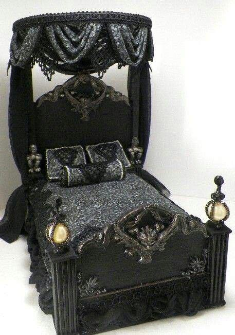 gothic bed 25 best ideas about haunted dollhouse on pinterest doll