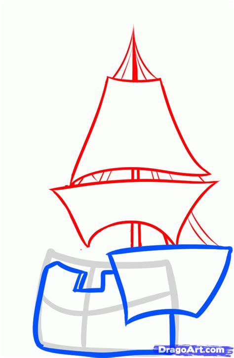 how to draw the mayflower boat how to draw the mayflower mayflower step by step boats