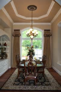 Dining room traditional window treatments charlotte by window