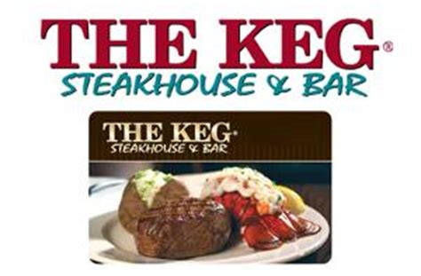 Keg Gift Card - contest win a 50 gift card to the keg steakhouse bar