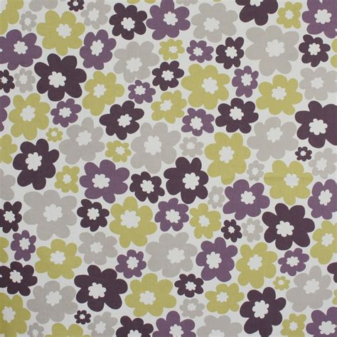 home decor fabric nature garden anja green