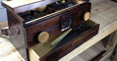 renaissance woodworker shannon rogers a tool box that doubles as a mobile