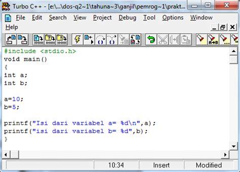 format karakter adalah mengenal identifier dan tipe data materitik