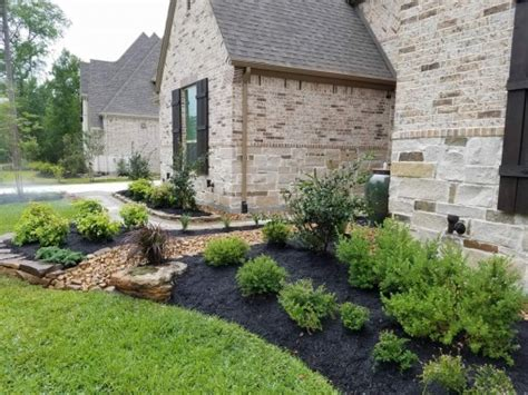 landscaping done right woodlands conroe montgomery