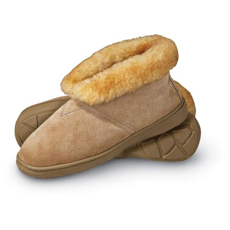 friend bootee slippers s friend 174 bootie slippers chestnut 142821