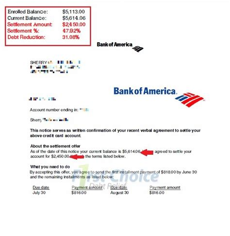 Bank America Letter Of Credit bank of america letters of credit gallery cv