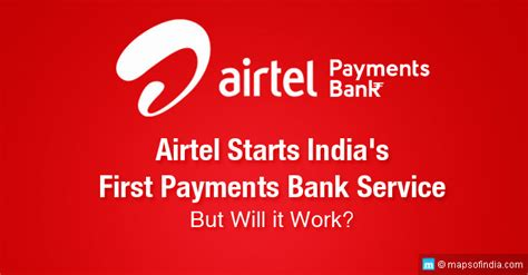what are payment banks airtel payments bank service in india my india