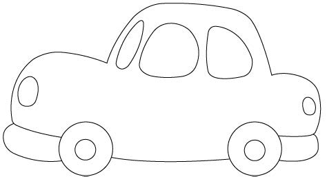 template for a car jelly welly freebies