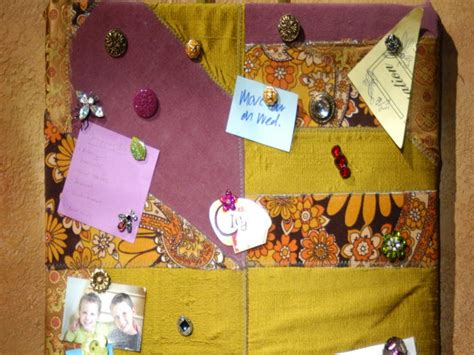 Quilted Pin Board by Patchwork Tack Board And Pins Diy