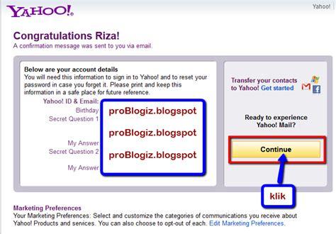 cara membuat mail group yahoo panduan lengkap cara membuat e mail yahoo problogiz