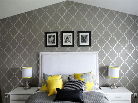 100 attractive design stencils for walls