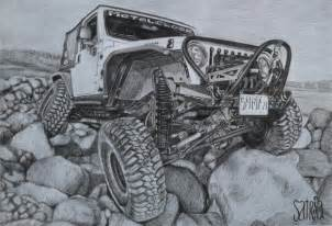 Drawing Jeep Jeep Drawing Pencil Pencil On Paper Artis By Satria Putra