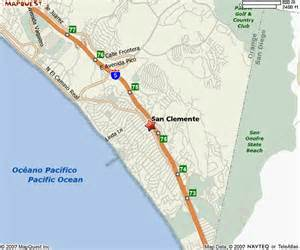 map of san clemente california socal beaches magazine covering the beaches of southern