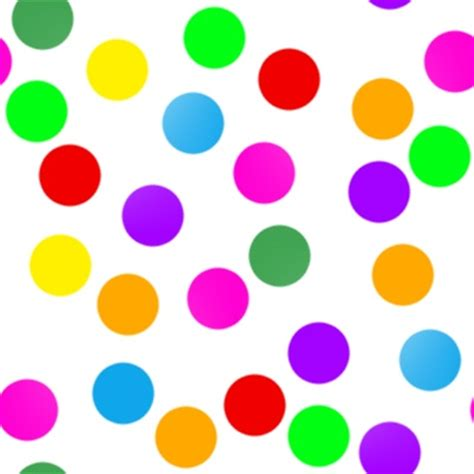 colorful dots wallpaper zachi colorful dots on black