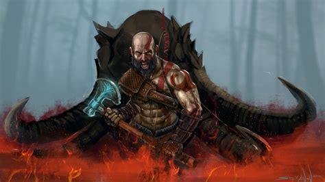 ps3 themes hd god of war god of war 4 video game wallpaper hd