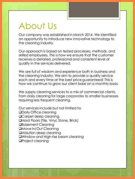 service profile template 4 company profile sle for a new company company