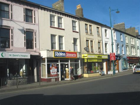 high street sofa shops file small shops on porthmadog s high street geograph