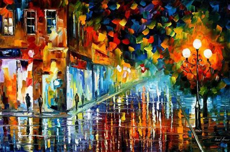 painting work leonid afremov art 1