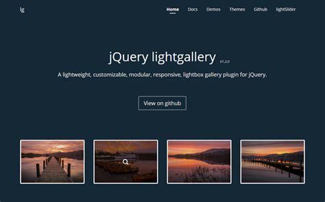 tutorial jquery lightbox a lightweight customizable css lightbox gallery plugin