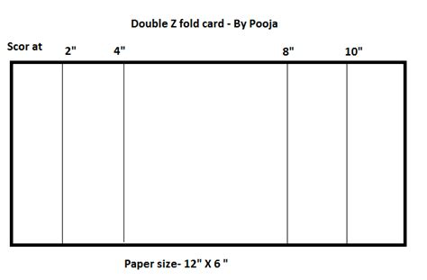 Z Fold Card Template by Lulupu The Craft Lounge Lulupu Challenge 26 Try