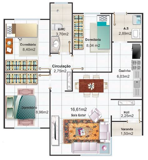 dise 241 o de plano de apartamento peque 241 o de un dormitorio casas y apartamentos dise 241 os arquitect 243 nicos mimasku com