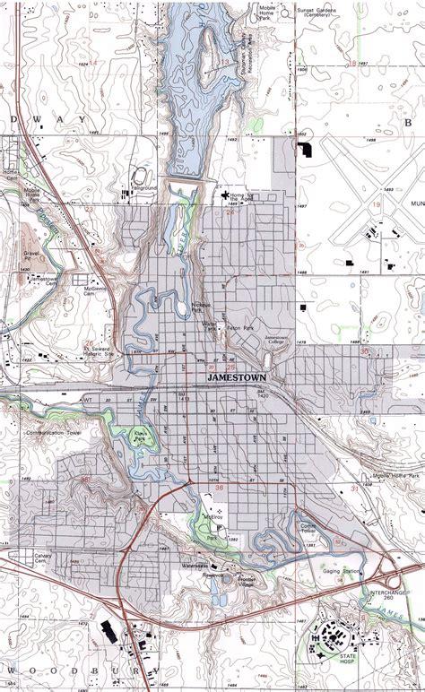 usa map jamestown maps us map jamestown