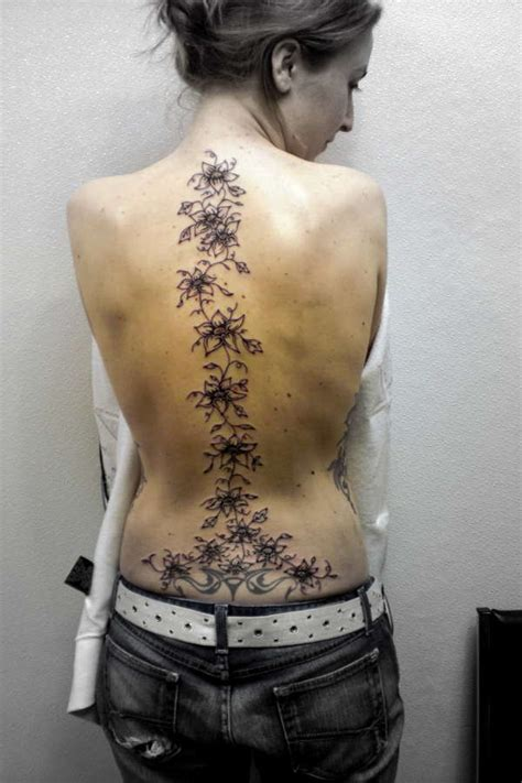 spine tattoo images amp designs