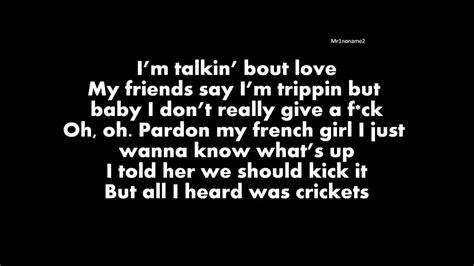yacht club lyrics drop city yacht club crickets ft jeremih lyrics youtube