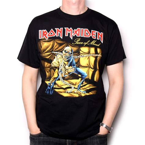 T Shirt Metal Iron Maiden iron maiden t shirt of mind classic heavy metal t