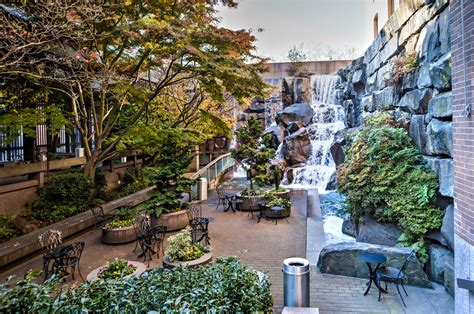 waterfall garden a gem in seattle gate to