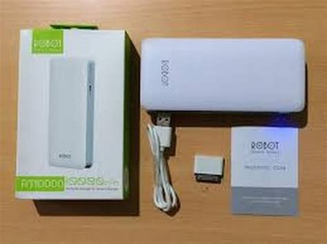 Powerbank Robot 6600mah Rt7200 inilah kecanggihan power bank robot 6600 mah
