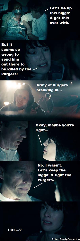 Purge Meme - the purge movie review colourlessopinions com