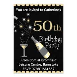 50th birthday invitation 5 quot x 7 quot invitation card zazzle