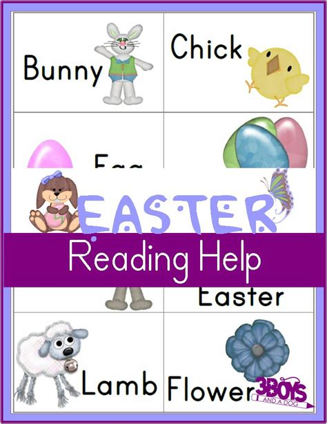 printable flash cards reading printable easter worksheets reading flash cards easter