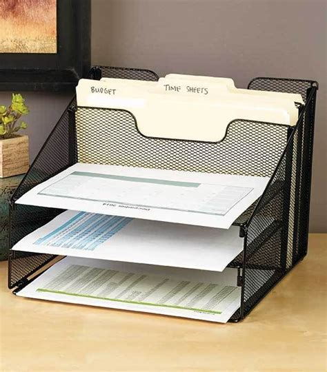 Desk Filing Organizer Best 25 Desktop File Organizer Ideas On Paper Clutter Bills Kitchen And Filing Papers