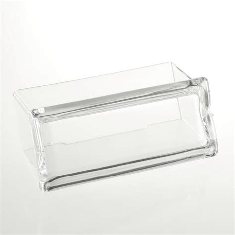 Clear Plastic Desk by Clear Desktop Business Card Holder Display Stand Acrylic